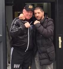 Besuch vom Ex Weltmeister Rocky!